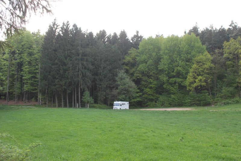 Seemingly deserted...