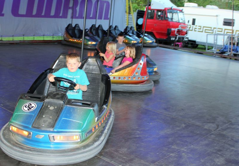 Dodgems all to themselves