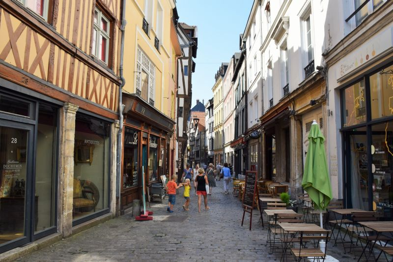 Antique Shops of Rouen