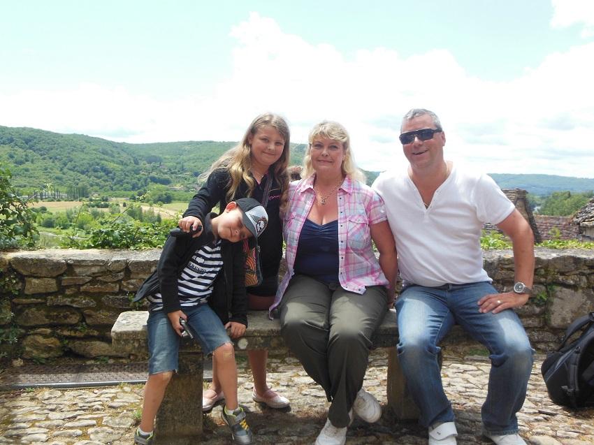 Nancy, Steve, Eloise and Ethan from Edinburgh