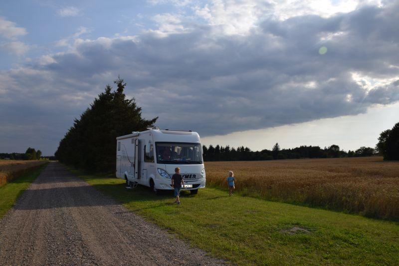 Wildcamping in Scandinavia - too easy