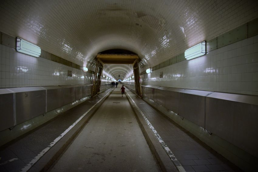 Alter Elbtunnel - great city access and an interesting jogging circular with plenty of steps at either end