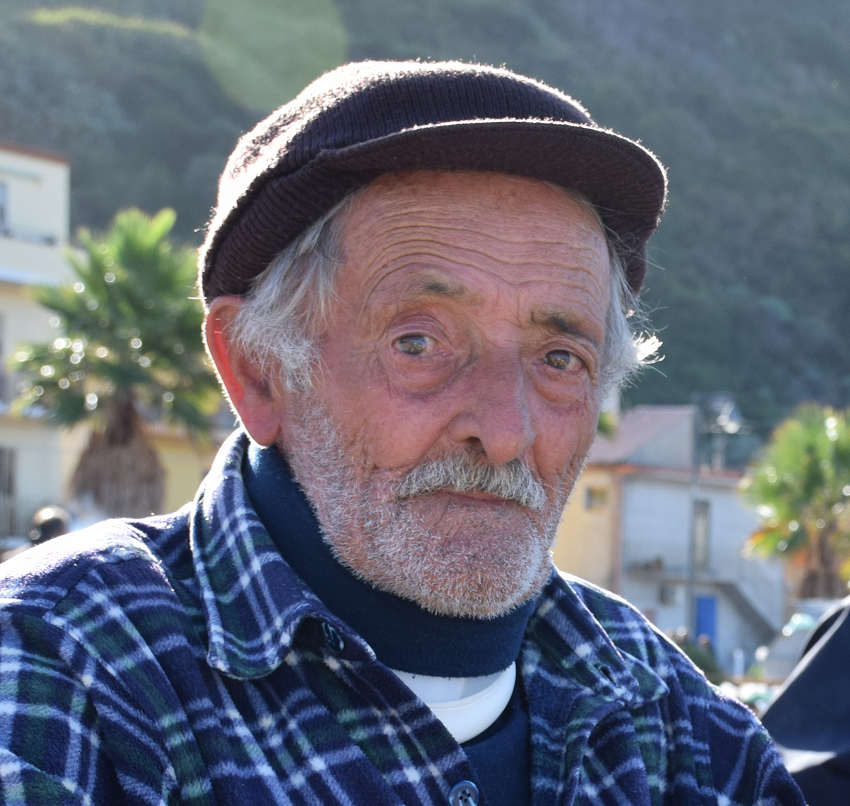 an old Sicilian fisherman